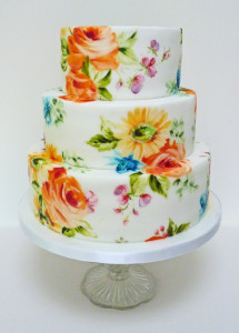 bright wedding cake_NeviePieCakes_£440
