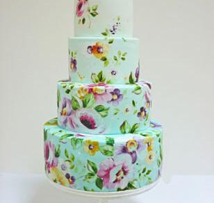 Flapjack Wedding Cake