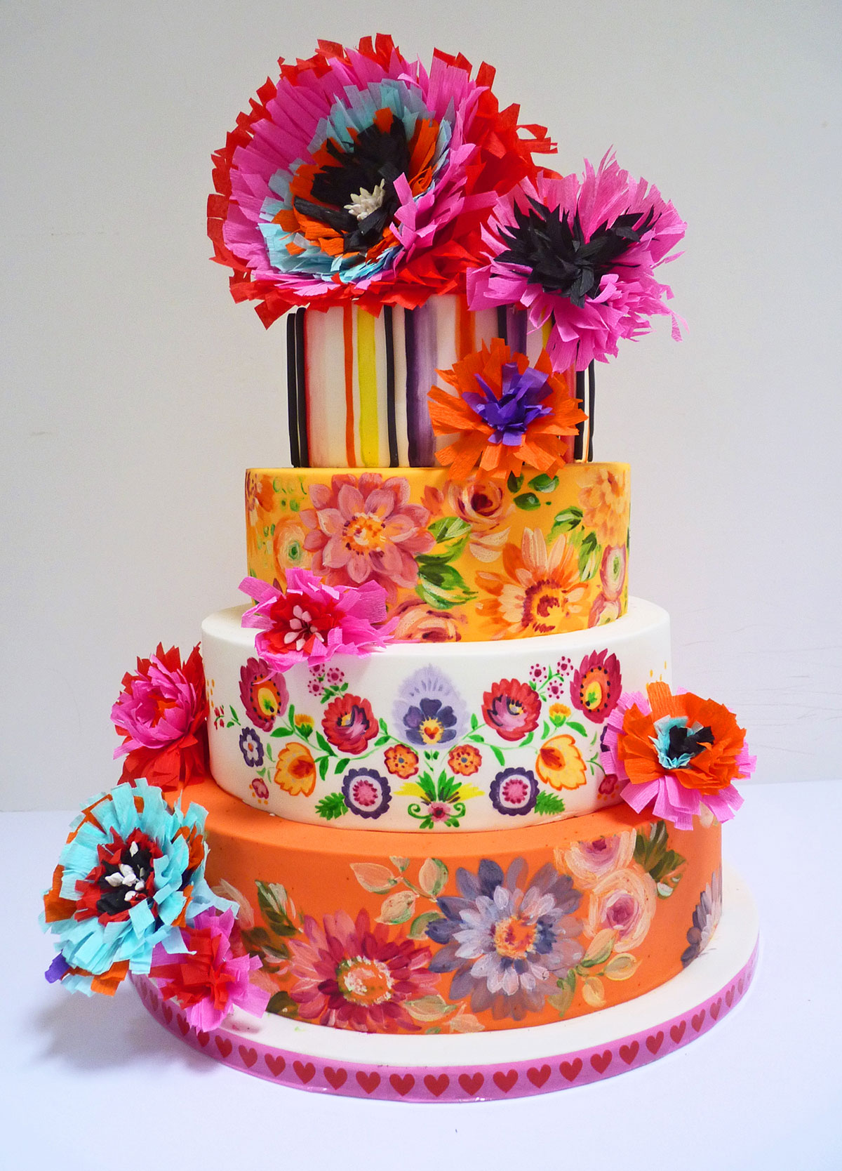 Mexican Cakes Wedding cakes nevie-pie cakes