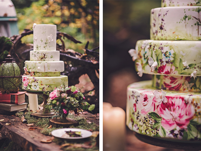 A midsummer\'s Night Dream Wedding Cake | Nevie-Pie Cakes