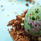 Easter egg nest recipe