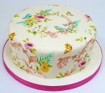 How to paint onto cakes